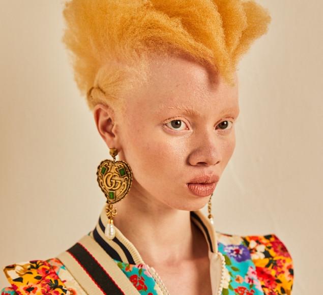 Thando Hopa Glamour Magazine
