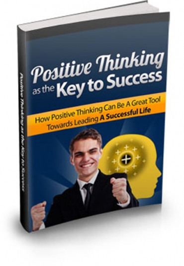 Book Cover Positive Thinking as the Key to Success