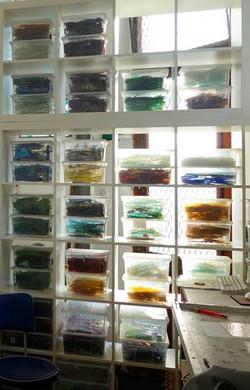 Maya glass studio view