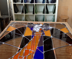 BBC stained glass commission