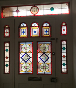 domestic commissions stained glass