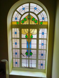stained glass window maya