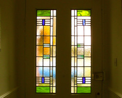 door stained glass chiswick