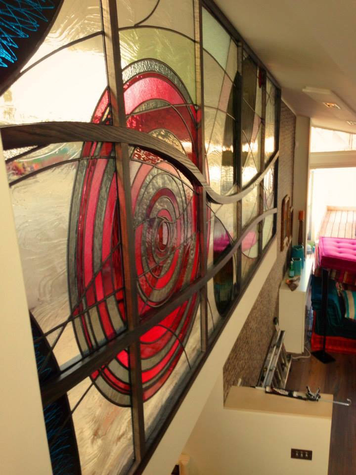 bespoke domestic stained glass