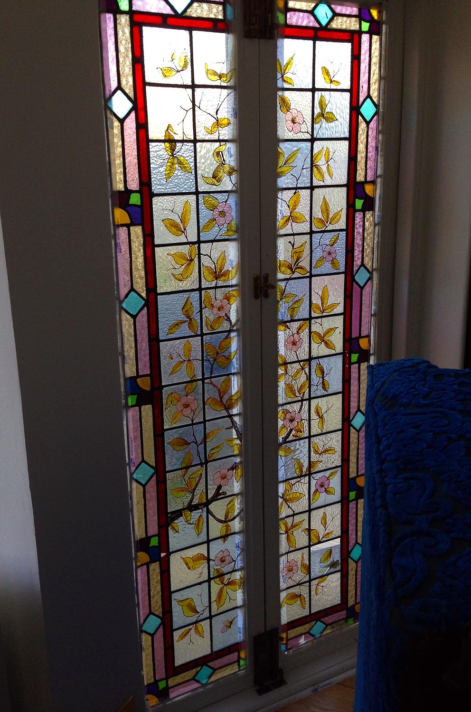stained glass door maya studio