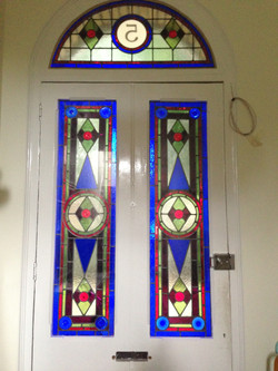 domestic stained glass london
