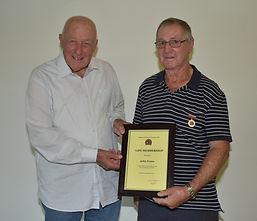 AGM 2020 John Evans Life Membership awar