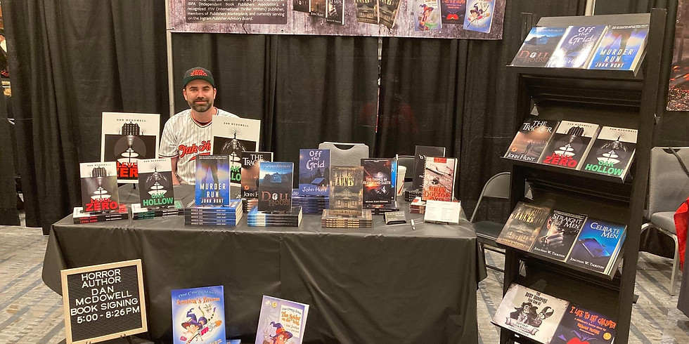 Texas Frightmare Book Signing with Black Rose Writing