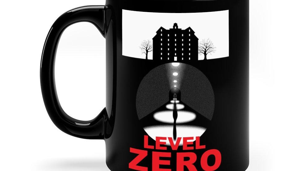Level Zero Black Coffee Mug, 11oz