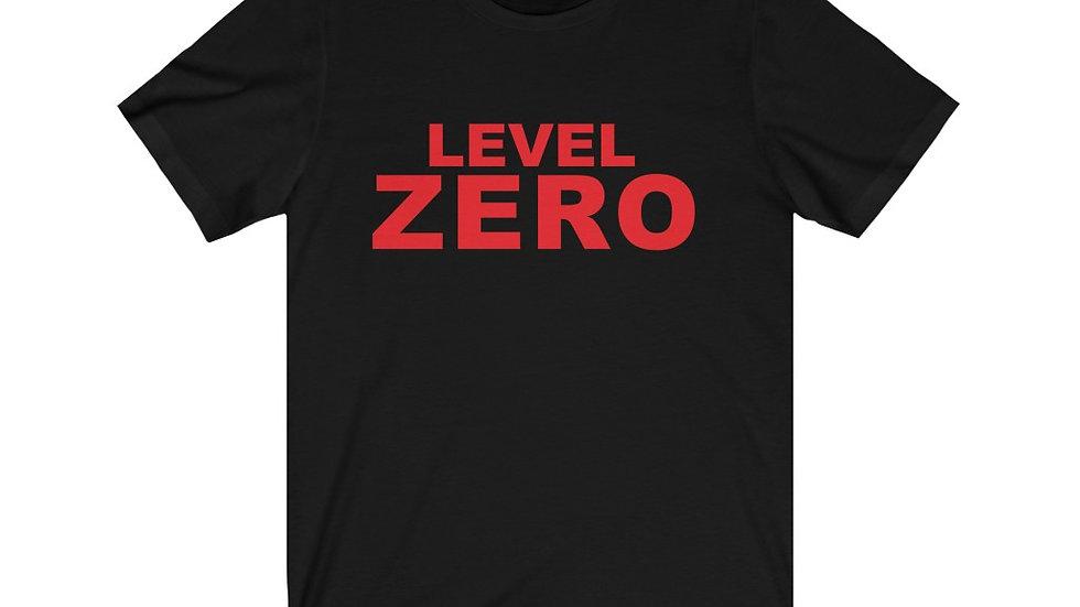 Level Zero Short Sleeve Jersey Tee
