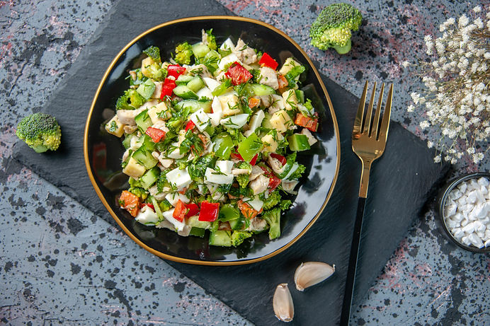 top-view-tasty-vegetable-salad-consists-