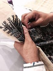 Die Kissen von La Corniche sind 100% Handarbeit.