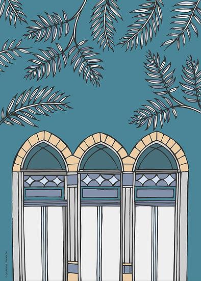 "Print ""Beirut Window Series 1"""