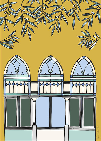 "Print ""Beirut Window Series 2"""