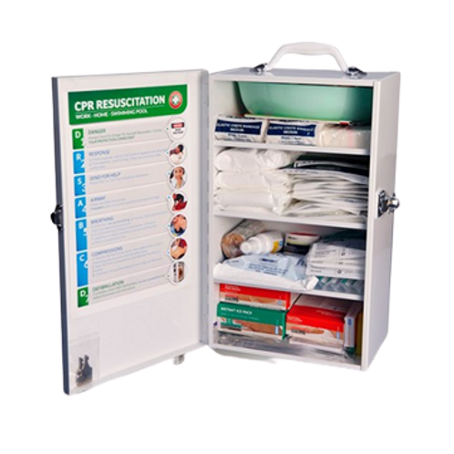Wall-Mounted First Aid Kit