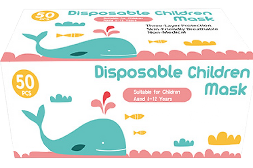 Kids Disposable Face Masks