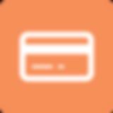 Credit Card Icon - Orange