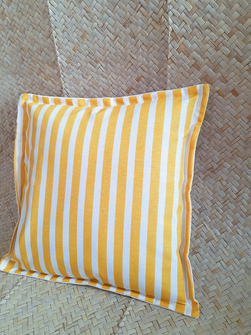 Capa Almofada | Listras  Amarelas