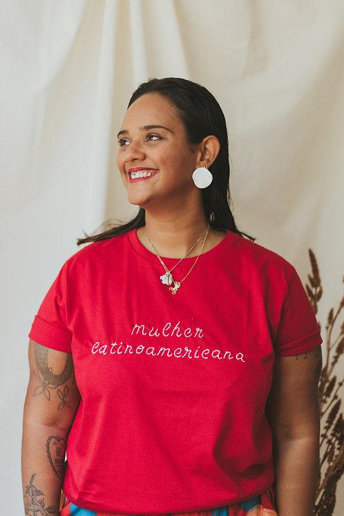 Tshirt Bordada   latinoamericana