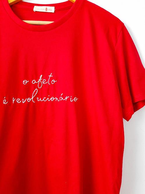Tshirt Bordada   Afeto