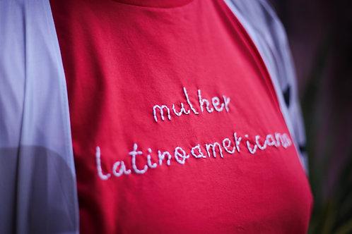 """Tshirt Bordada """"Latina"""""""