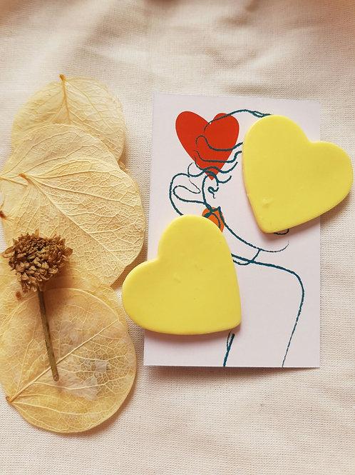 Brinco Coração | Amarelinha