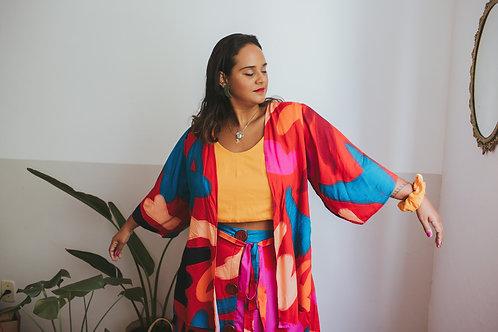 Kimono Manga Longa | Frida