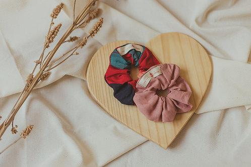 Dupla Scrunchies | Rose