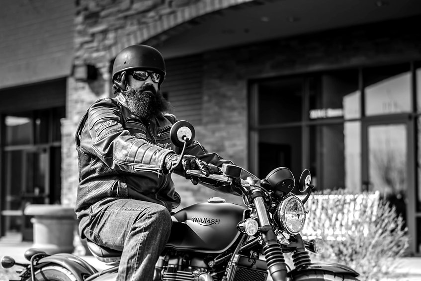 Bearded Biker - Big Phat Beard