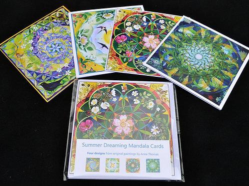 Summer Dreaming Mandala Cards