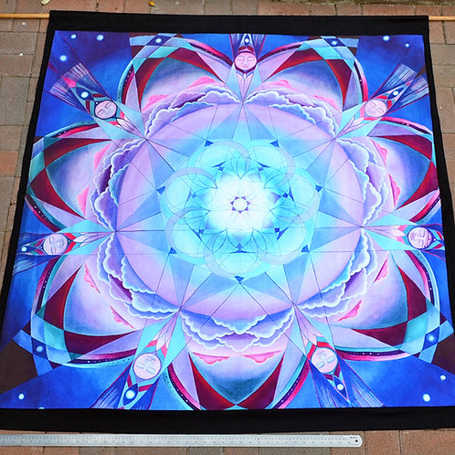 'Heavenly Ki' Large Fabric Print