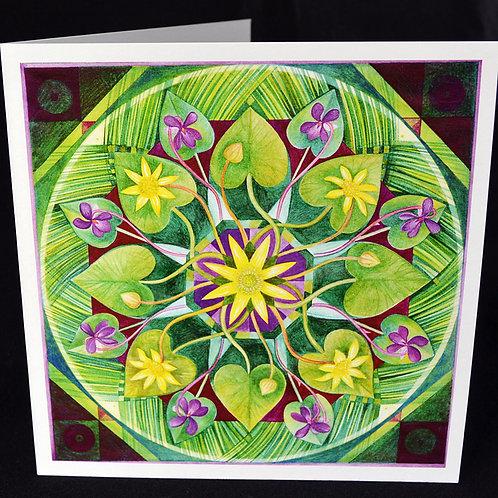 Spring Mandala Cards