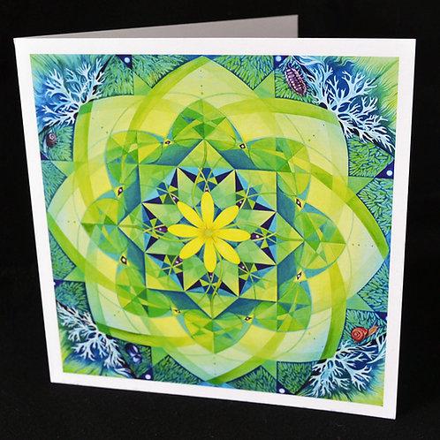 'Earth Ki' Greetings Card