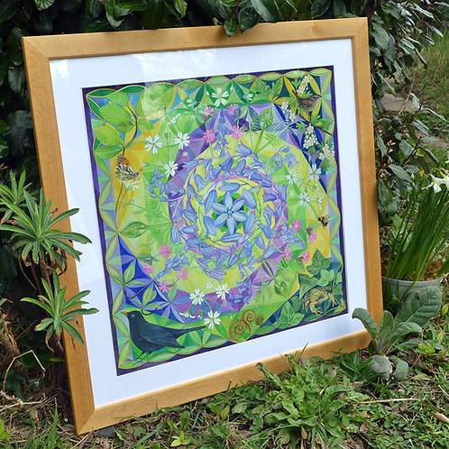 'A Symphony of Spring' Original Framed Watercolour Painting