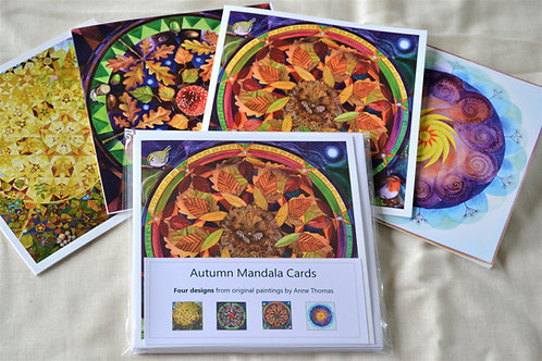 Autumn Mandala Cards