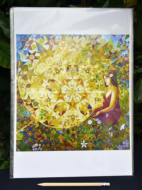 'Spiral of Life' Art Poster