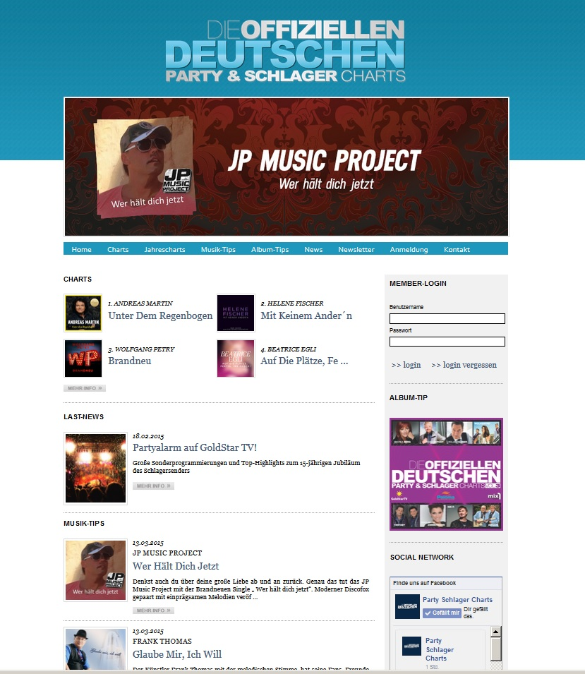 Party Schlager Charts