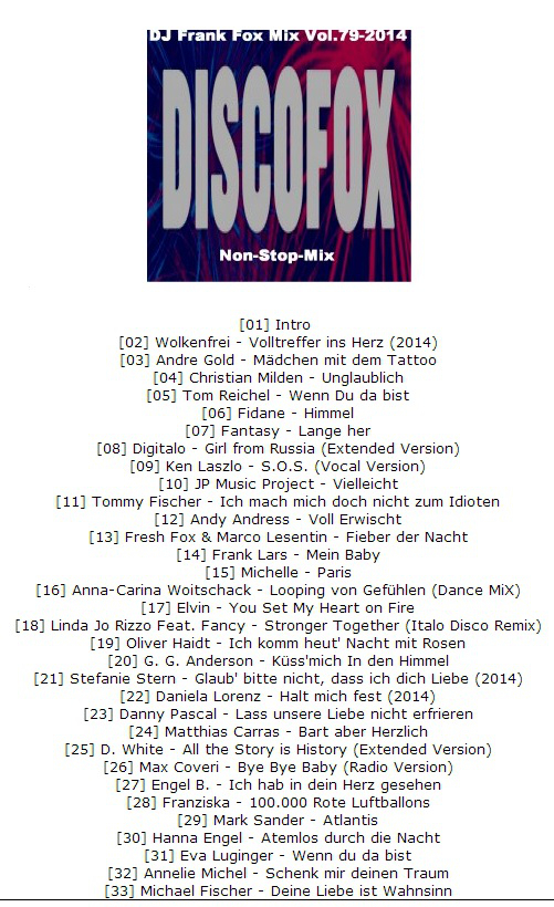 DJ Frank Mix 79