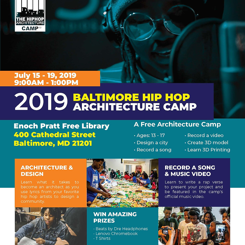 Hip Hop Architecture Camp - Comes To Baltimore (Volunteers Needed!)