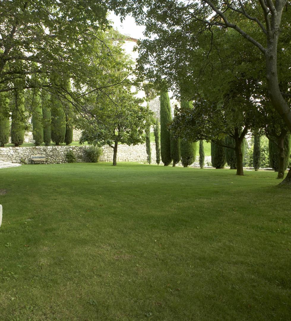 Château de Gourdon_Terrasse aux Magnolia
