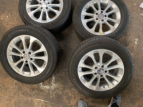 pack  pneus neige 215/60/17