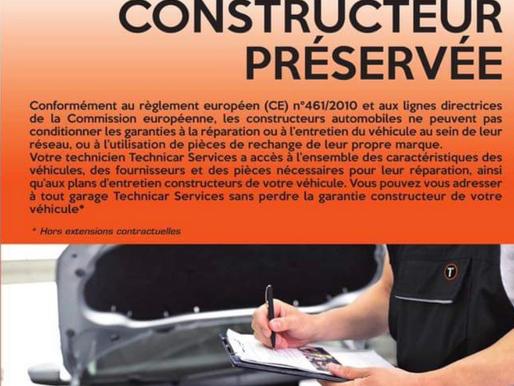ICI garantie constructeur préserver