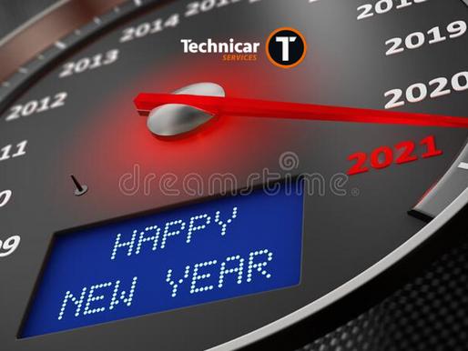 Toute l'équipe TOP PNEUS vous souhaite une très bonne année 2021