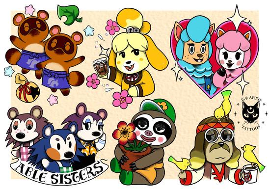 Animal Crossing NPCs