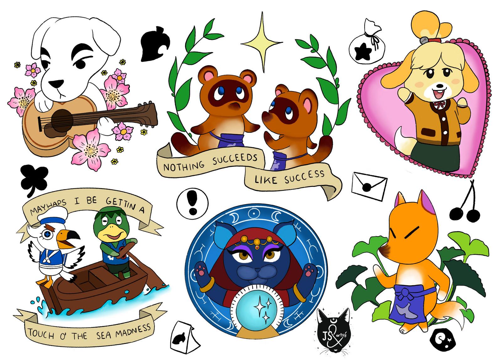 100 Photos of Animal Crossing Flash