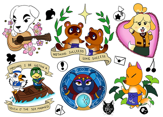 Animal Crossing Flash