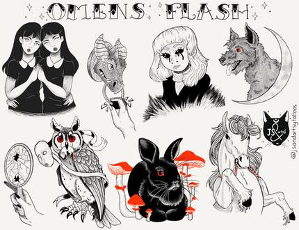 Omens Flash