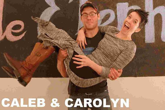 Caleb & Carolyn  Session Vinyl