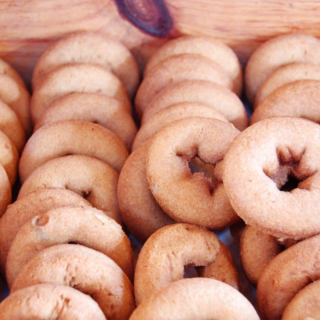Our own cider donuts made from scratch