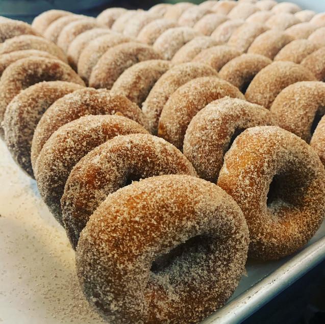 Homemade Cider Donuts